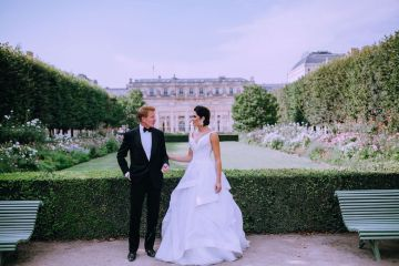 Glamorous French Wedding by Alisabeth Von Presley and Fete in France 39
