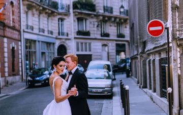 Glamorous French Wedding by Alisabeth Von Presley and Fete in France 40