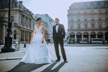 Glamorous French Wedding by Alisabeth Von Presley and Fete in France 6