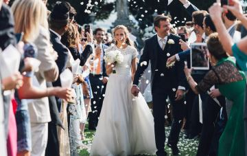 Refined and Romantic Destination Wedding in Tuscany