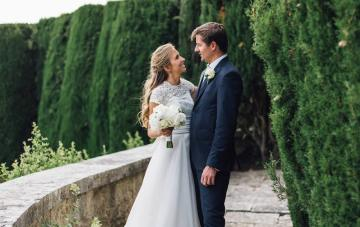 Luxurious Destination Wedding in Tuscany by Stefano Santucci 33