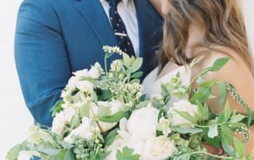 Modern Farmhouse Wedding Inspiration by Alexandra Wallace and A Lovely Creative 34