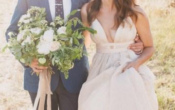 Modern Farmhouse Wedding Inspiration by Alexandra Wallace and A Lovely Creative 68