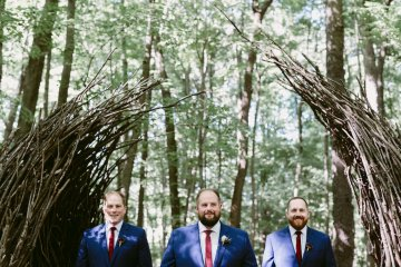 Rustic & Intimate Wedding by Suzuran Photography and Oak & Honey Events 4