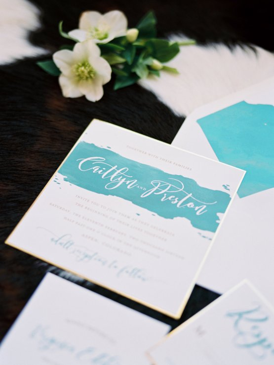 Contemporary Winter Wedding Inspiration by Rachel Havel and BluebirdProductions 19