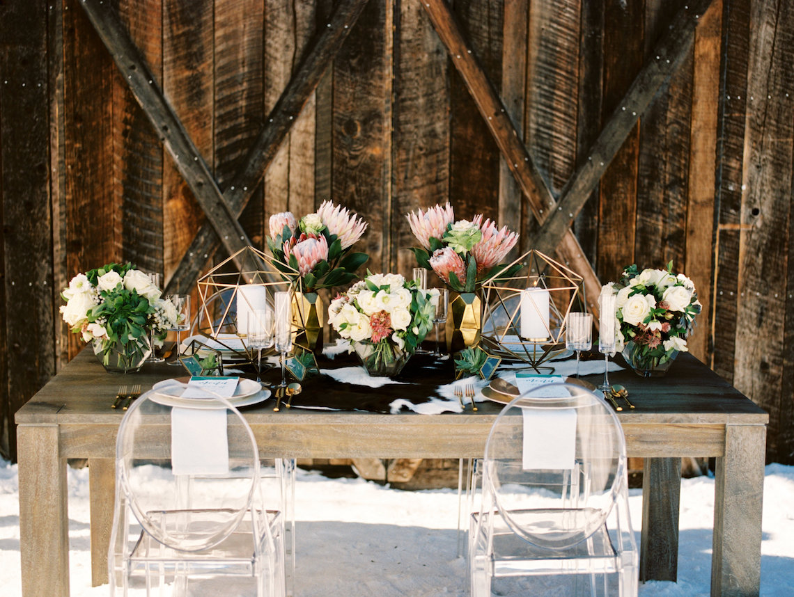 Contemporary Winter Wedding Inspiration by Rachel Havel and BluebirdProductions 25