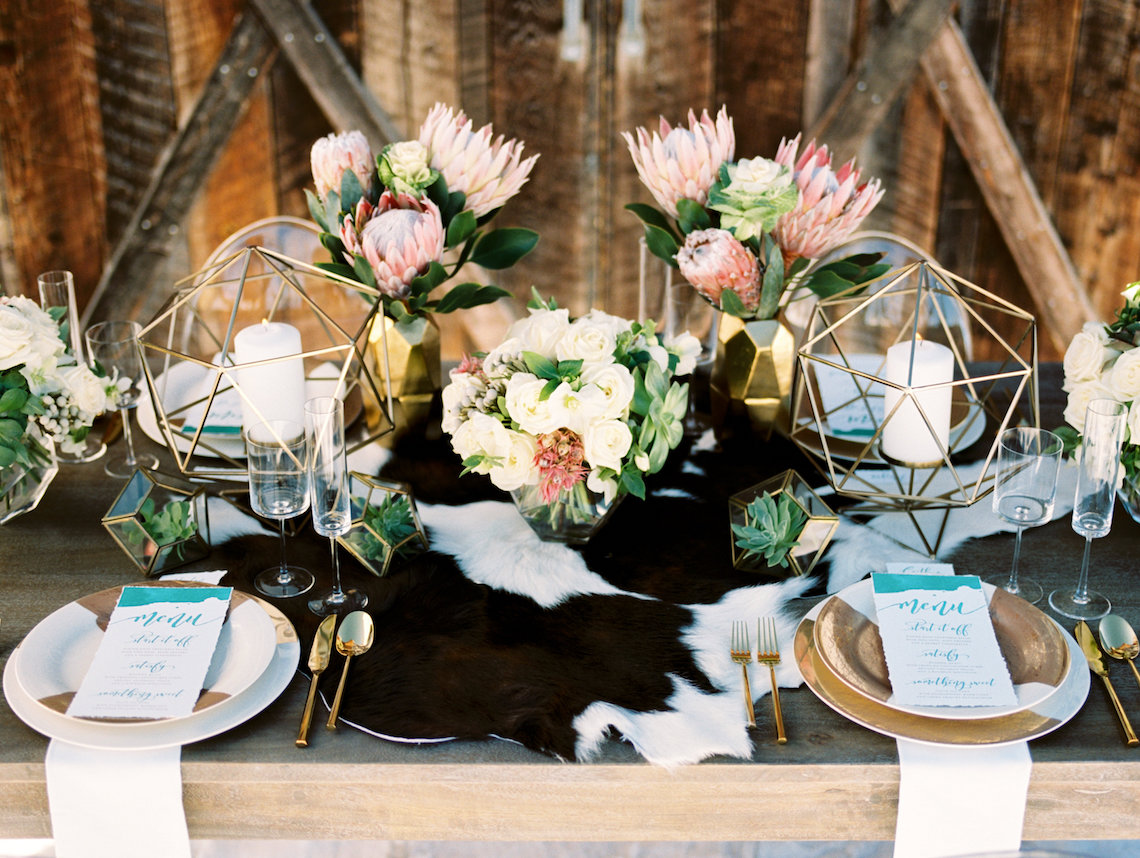 Contemporary Winter Wedding Inspiration by Rachel Havel and BluebirdProductions 28