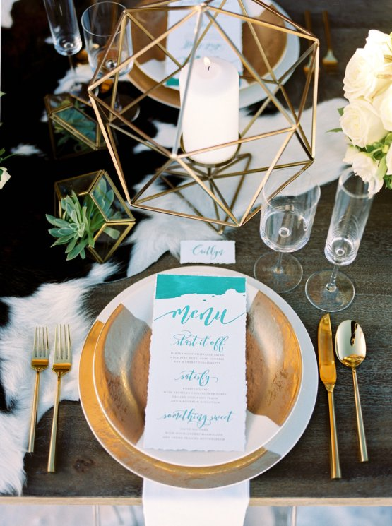 Contemporary Winter Wedding Inspiration by Rachel Havel and BluebirdProductions 33