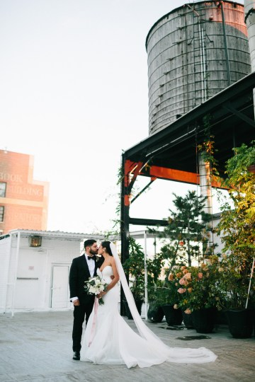 Cool Loft Wedding In New York by Chaz Cruz Photographers 25