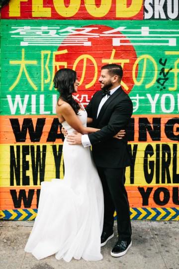 Cool Loft Wedding In New York by Chaz Cruz Photographers 40