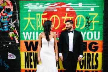 Cool Loft Wedding In New York by Chaz Cruz Photographers 41