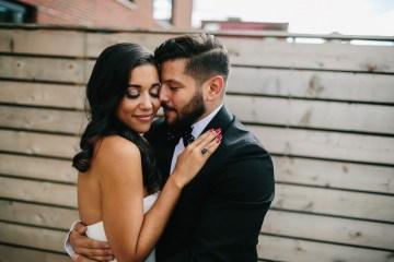 Cool Loft Wedding In New York by Chaz Cruz Photographers 5