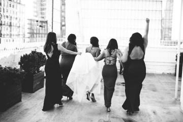 Cool Loft Wedding In New York by Chaz Cruz Photographers 50