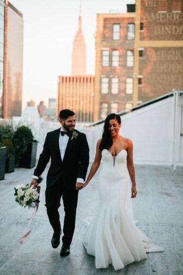 Cool Loft Wedding In New York by Chaz Cruz Photographers 59