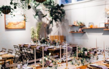Gorgeous Restaurant Wedding by ComePlum Photography 18