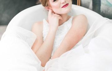 Modern LA Wedding Inspiration Hannah Q. Photography 33
