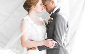 Modern LA Wedding Inspiration Hannah Q. Photography 36