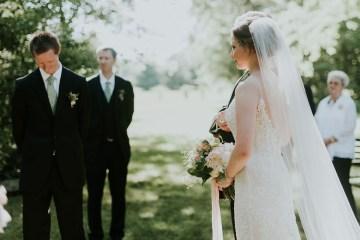 Pretty Farm Wedding by Bekah Kay Creative 25