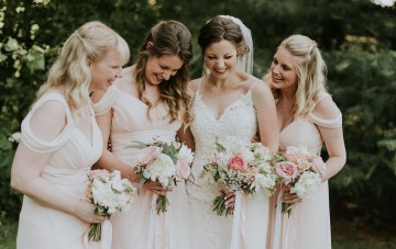 Pretty Farm Wedding by Bekah Kay Creative 30