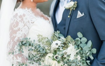 Romantic Winter Wedding by Audrey Rose Photography 8