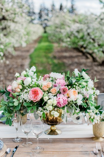Bright and Colorful Apple Blossom Orchard Wedding Inspiration | Shanell Photography & Mitten Weddings and Events 13