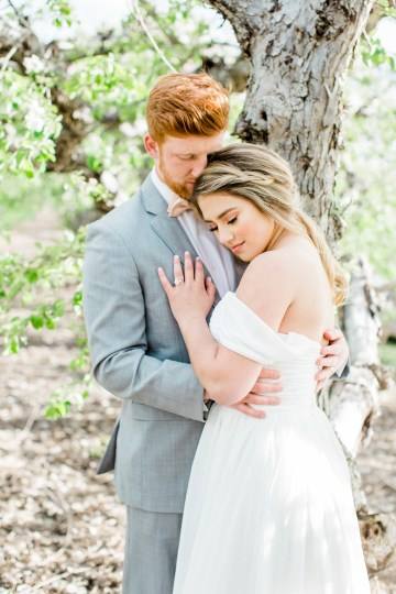Bright and Colorful Apple Blossom Orchard Wedding Inspiration | Shanell Photography & Mitten Weddings and Events 18