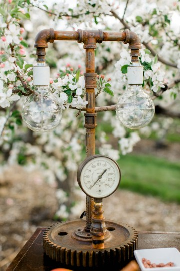 Bright and Colorful Apple Blossom Orchard Wedding Inspiration | Shanell Photography & Mitten Weddings and Events 39