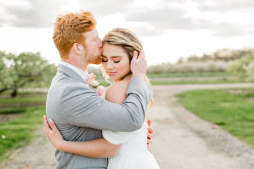 Bright and Colorful Apple Blossom Orchard Wedding Inspiration | Shanell Photography & Mitten Weddings and Events 74