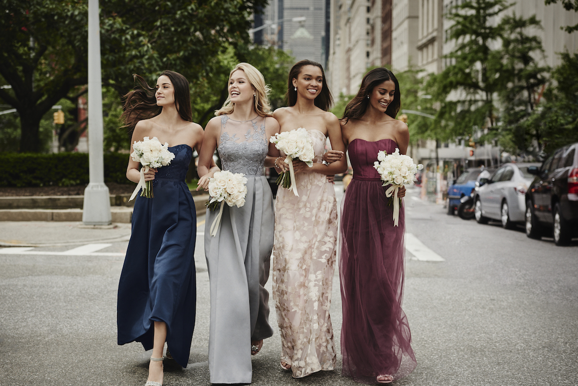 Classic Timeless Dresses For Your Royal Bridal Party | Oleg Cassini & David's Bridal 4