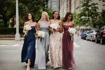 Classic Timeless Dresses For Your Royal Bridal Party | Oleg Cassini & David's Bridal 4