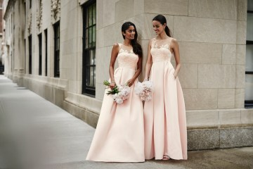 Classic Timeless Dresses For Your Royal Bridal Party | Oleg Cassini & David's Bridal 5