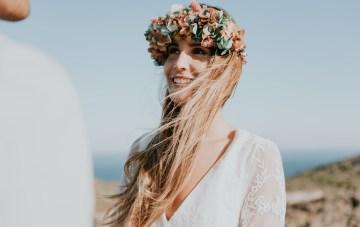 Free-Spirited & Panoramic Boho Wedding Inspiration | Sara Cuadrado and El Ramo Volador 2