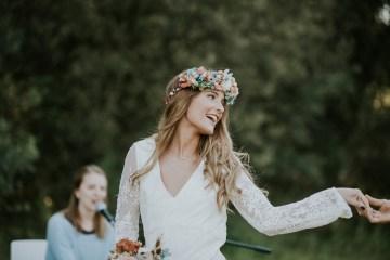 Free-Spirited & Panoramic Boho Wedding Inspiration | Sara Cuadrado and El Ramo Volador 28