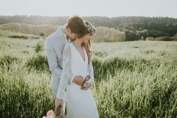 Free-Spirited & Panoramic Boho Wedding Inspiration | Sara Cuadrado and El Ramo Volador 34