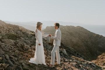 Free-Spirited & Panoramic Boho Wedding Inspiration | Sara Cuadrado and El Ramo Volador 6