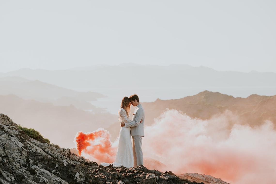 Free-Spirited & Panoramic Boho Wedding Inspiration   Sara Cuadrado and El Ramo Volador 8