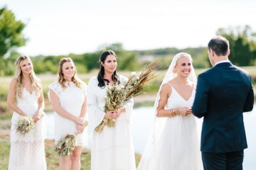 Fun, Scenic, Lakeside Wedding with Dried Floral Bouquets | Studio 1208 1