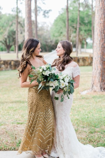 Gilded Florida Farm Wedding with an Adorable Golden Pup | Lauren Galloway Photography 13