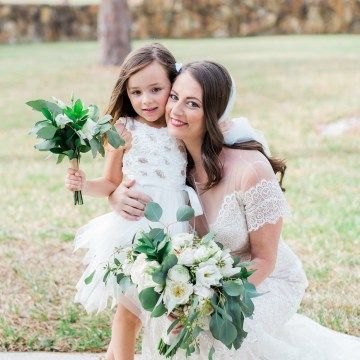 Gilded Florida Farm Wedding with an Adorable Golden Pup | Lauren Galloway Photography 14
