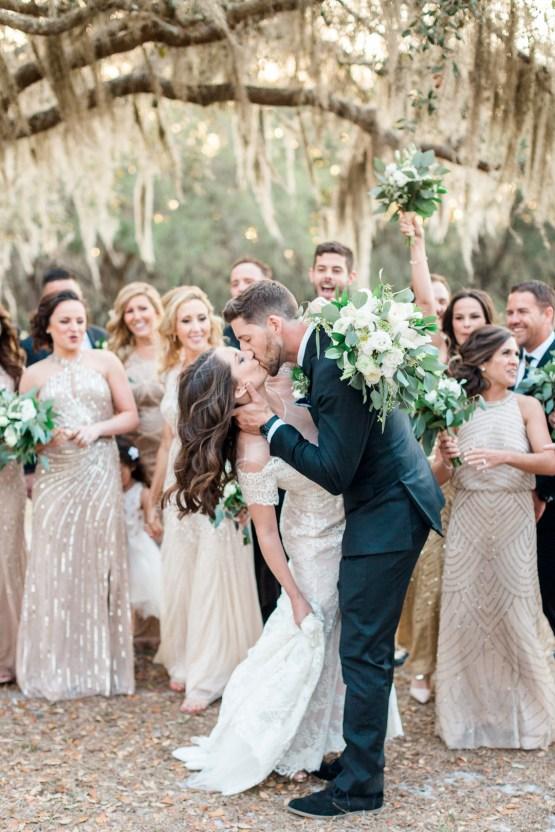 Gilded Florida Farm Wedding with an Adorable Golden Pup | Lauren Galloway Photography 38