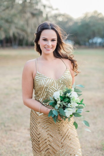 Gilded Florida Farm Wedding with an Adorable Golden Pup | Lauren Galloway Photography 41