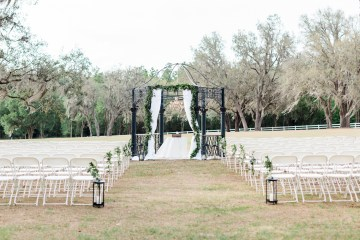 Gilded Florida Farm Wedding with an Adorable Golden Pup | Lauren Galloway Photography 55