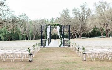 Gilded Florida Farm Wedding with an Adorable Golden Pup   Lauren Galloway Photography 55