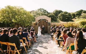 Romantic California Wedding with Rustic Spanish Charm