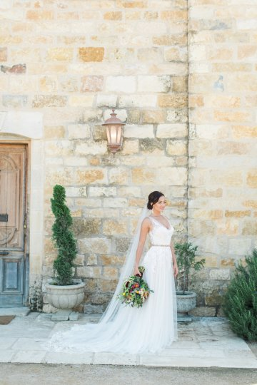 Romantic Gold, Grey and Berry Vineyard Wedding Inspiration | Jenny Quicksall & An Enlightened Event 40
