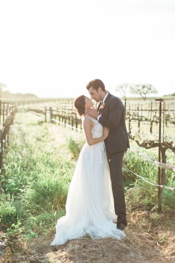 Romantic Gold, Grey and Berry Vineyard Wedding Inspiration | Jenny Quicksall & An Enlightened Event 61