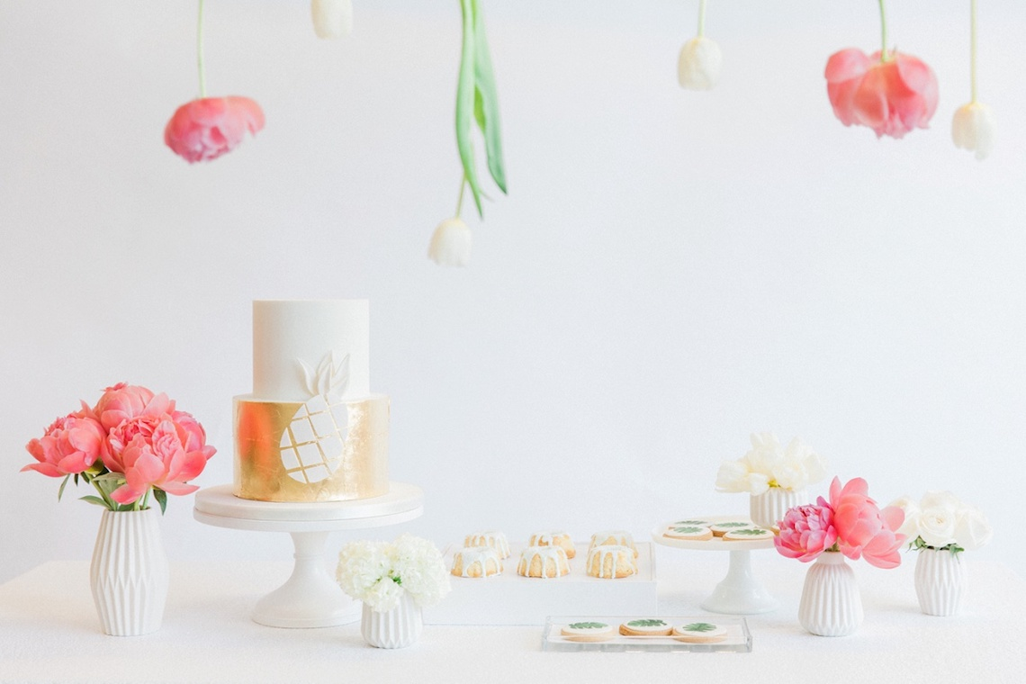 Colorful Bridal Bash with Oodles of Chic Tropical Treat Ideas | Maxeen Kim 76