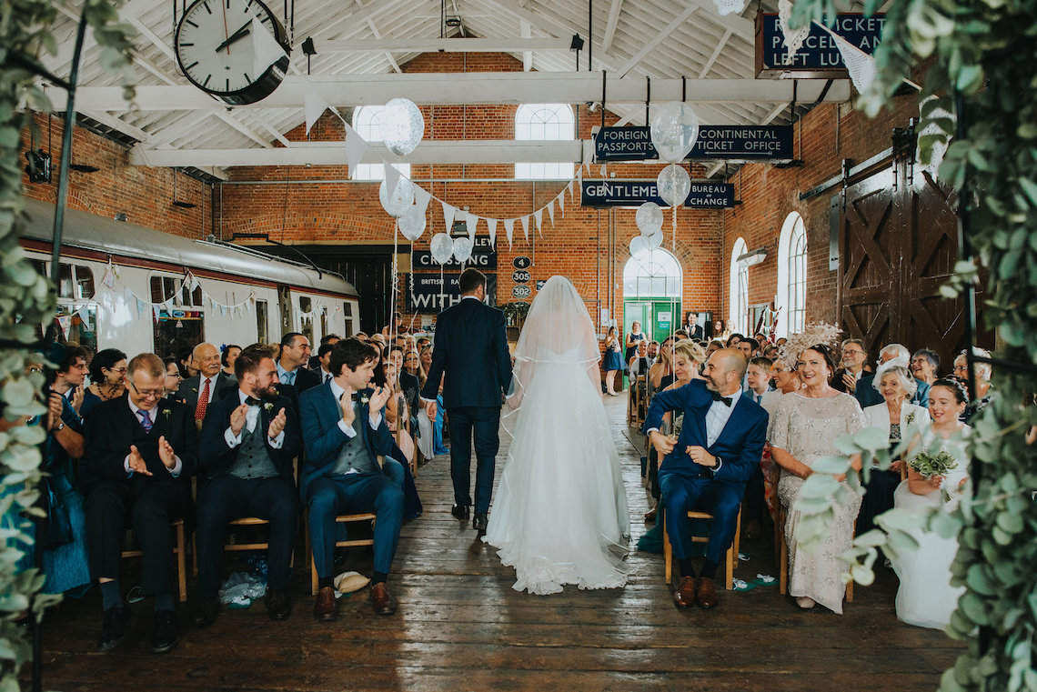 East Anglian Railway Museum Wedding | Remain in Light Photography | Bridal Musings 11