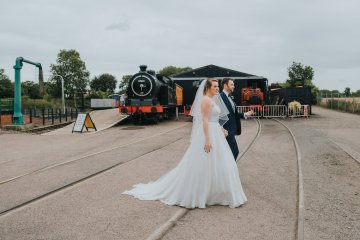 East Anglian Railway Museum Wedding | Remain in Light Photography | Bridal Musings 15