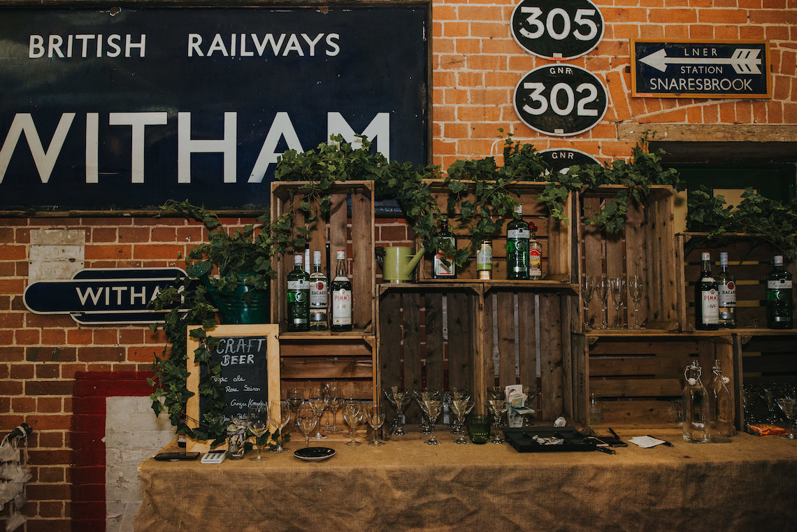 East Anglian Railway Museum Wedding | Remain in Light Photography | Bridal Musings 43